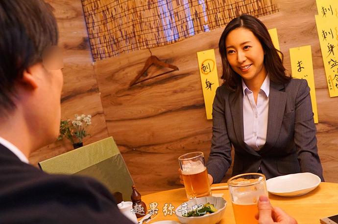 松下纱荣子新作品「IPX-461」:有个精明能干的下属真幸福