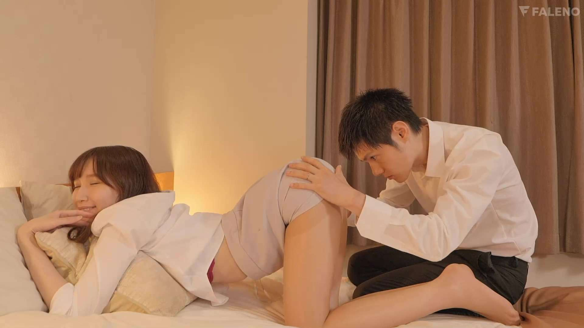 flns249:决定和那个公司里最恐怖的女上司天川そら一起去出差
