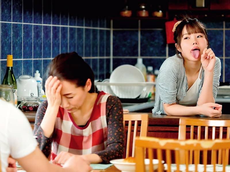 DVAJ-519  松本いちか(松本一香)摆出舔舔表情勾引表哥