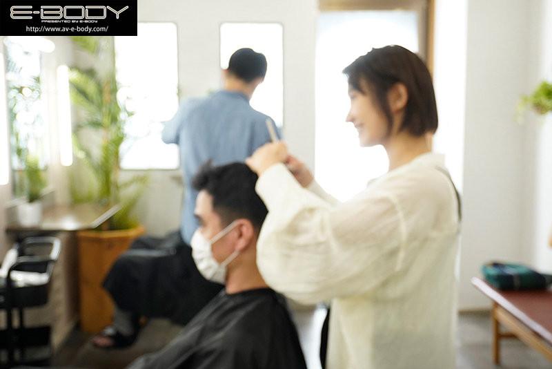 EBOD-864 美波もも(美波桃)短发美容师决定转职