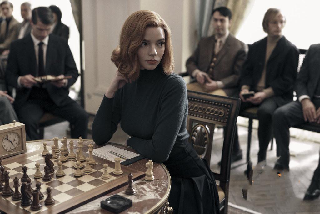 《后翼弃兵》又名《女王的棋局》Netflix最新剧集象棋女王的故事
