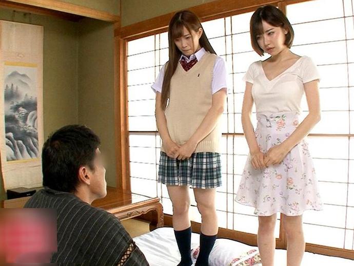[DOCP-184]深田咏美和美谷朱里姐妹花被继父双飞